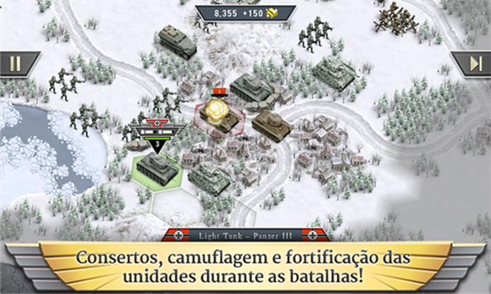 1941 Frozen Front é um game para Windows Phone ambientado na Segunda Guerra Mundial (Foto: Divulgação/Windows Phone Store)