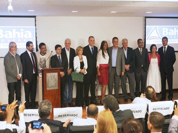 Secretários foram anunciados pelo governador Rui Costa nesta sexta (19) (Foto: Divulgação / Secom)