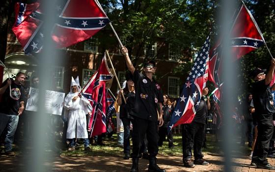Manifestação em Charlottesville (Foto: Chet Strange/Getty Images)