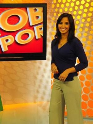 Alice Bastos Neves é a apresentadora do Globo Esporte RS (Foto: Divulgação/RBS TV)