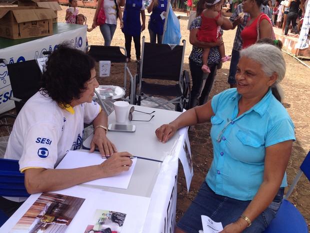 Consultas na Ação Global em Macapá serão feitas por 30 médicos  (Foto: John Pacheco/G1)