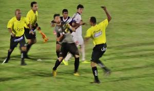 Briga União x Mixto (Foto: Reprodução/TVCA)