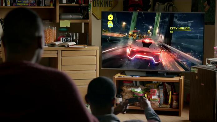 Apple TV garante acesso aos jogos da App Store na telona da sala (Foto: Divulgação/Apple)