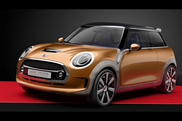 Mini Vision Concept antecipa novidades da terceira geração do Cooper (Foto: Divulgação)