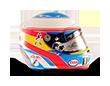 Capacete Formula 1 2016 - Alonso