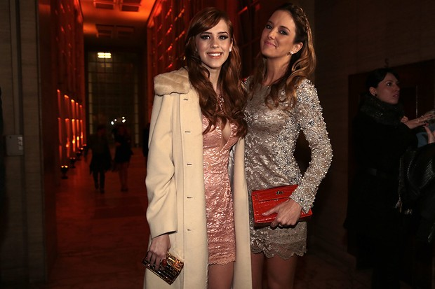 Sophia Abrahão e Ticiane Pinheiro (Foto: Alessandra Gerzoschkowitz / EGO)