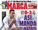 Jornais de Madri vibram com o Real, e catalães lamentam tropeço do Barça