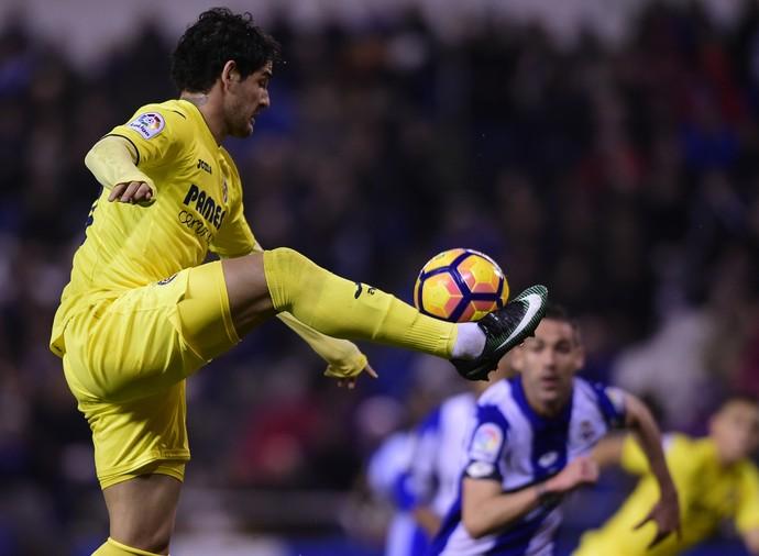 Alexandre Pato, Deportivo La Coruña x Villarreal (Foto: MIGUEL RIOPA / AFP)