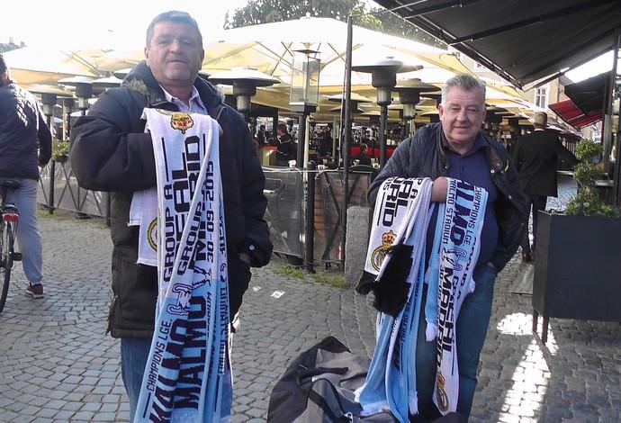Malmö x Real Madrid - clima antes do jogo pela Champions (Foto: Claudia Garcia)