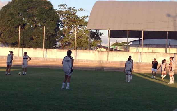 Treino feminino, Botafogo-PB, Botafogo feminino, Campeonato Brasileiro, Série A, Paraíba (Foto: Divulgação / Botafogo-PB)
