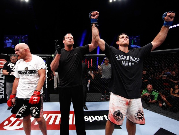 Keith Jardine e Roger Gracie Strikeforce MMA (Foto: Getty Images)