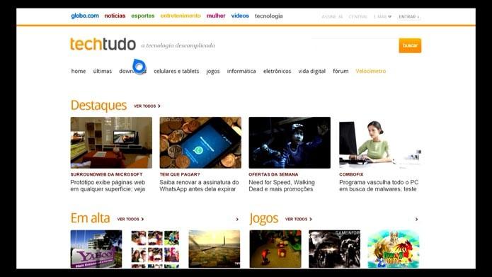 O navegador está ainda mais rápido e fácil de operar (Foto: Reprodução/Murilo Molina)