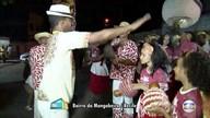 Nações de maracatu fazem ensaio para o carnaval na Mangabeira, na Zona Norte do Recife