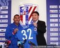 Tevez é apresentado e usará número 32 no Shanghai Shenhua