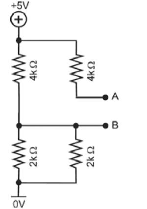 Associação de resistores (Foto: Reprodução/Fuvest)