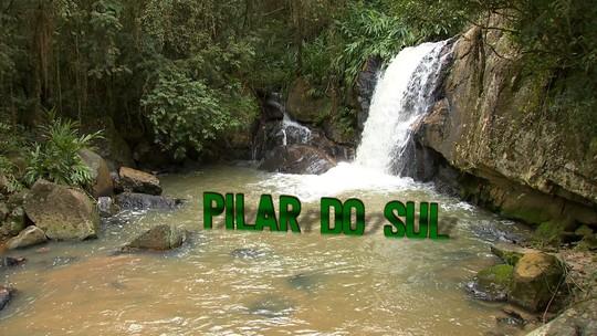 Revista de Sábado conhece a cachoeira Nascente das Águas, em Pilar do Sul