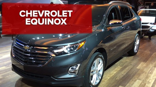 Chevrolet Equinox chega ao Brasil no 2º semestre deste ano