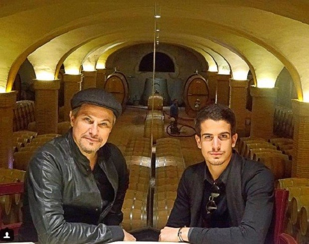 Edson e Enzo (Foto: Reprodução/Instagram)