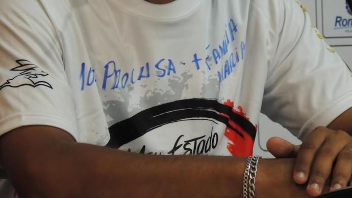 Hemerson Maria Joinville camisa (Foto: João Lucas Cardoso)