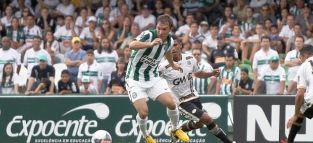 Globo Esporte Paraná (Foto: Site oficial do Coritiba/Divulgação)