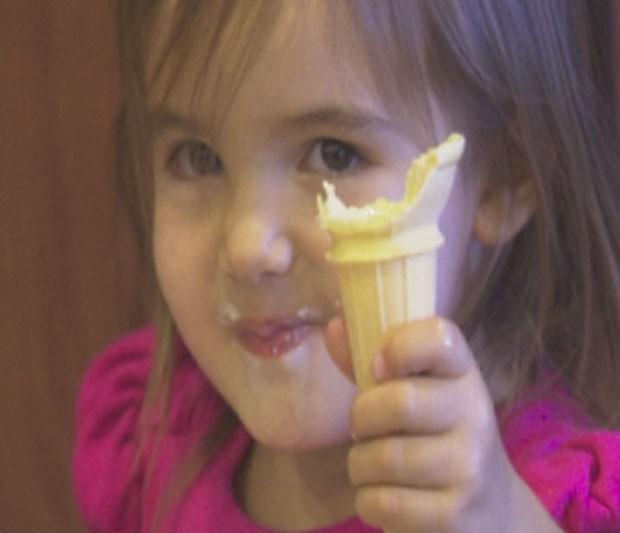 Sorveteria de Laveen criou sorvete com sabor de peru. (Foto: Reprodução)
