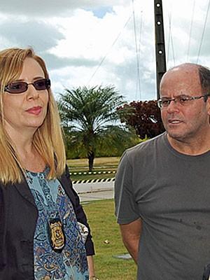 Delegada Vilaneida Aguiar e promotor André Rabelo (Foto: Katherine Coutinho / G1)