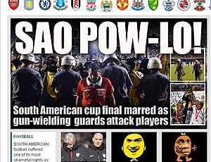 jornal repercussão Chelsea The Sun (Foto: Reprodução / The Sun)