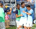 Villa e Lampard marcam, New York City vence time de Drogba e lidera
