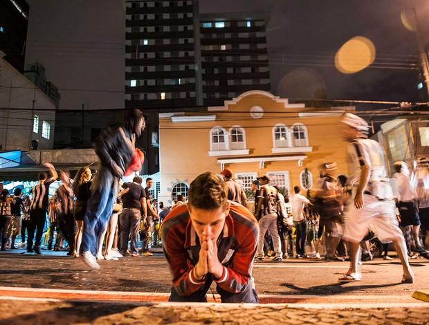festa Atlético-MG torcida nas ruas (Foto: Alexandre Rezende)