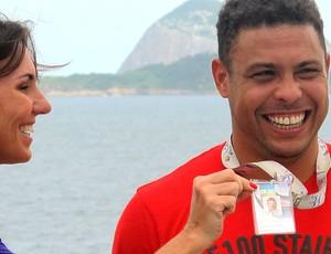 Ronaldo entrevista Esporte Espetacular (Foto: Márcio Iannacca)