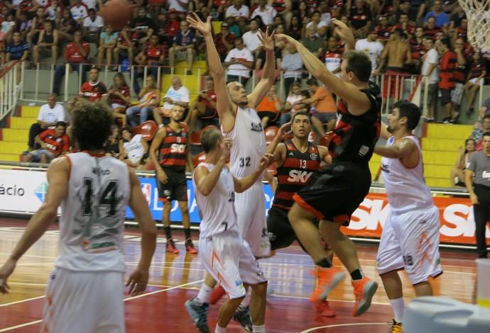 Flamengo x Liga Sorocabana, basquete (Foto: Danielle Rocha)