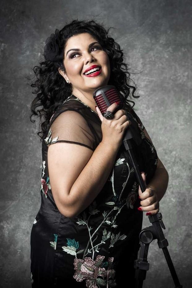 Fabiana Karla é uma das participantes do programa musical Popstar  (Foto: Raquel Cunha/TV Globo)