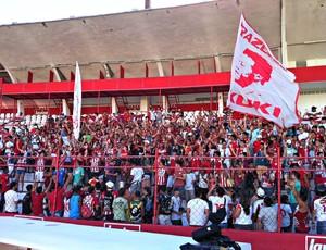 Torcida do Náutico (Foto: Márcio Markman - Globoesporte.com/PE)