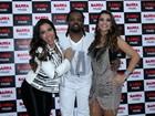 Anitta, Mari Antunes e Xande de Pilares cantam com Xanddy em show do Harmonia do Samba no Rio