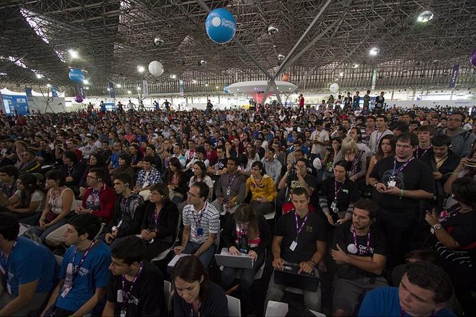 Multidão assistirá a mais de 500 horas de palestras, com 18 temáticas e 13 cenários (Foto: Divulgação/Campus Party)