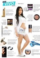Grávida, Bella Falconi revela os 10 produtos de beleza que não vive sem