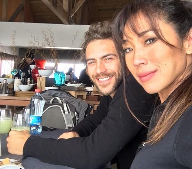 Danny e seu namorado, o ator Fernando Roncato (Foto: Reprodução Instagram)