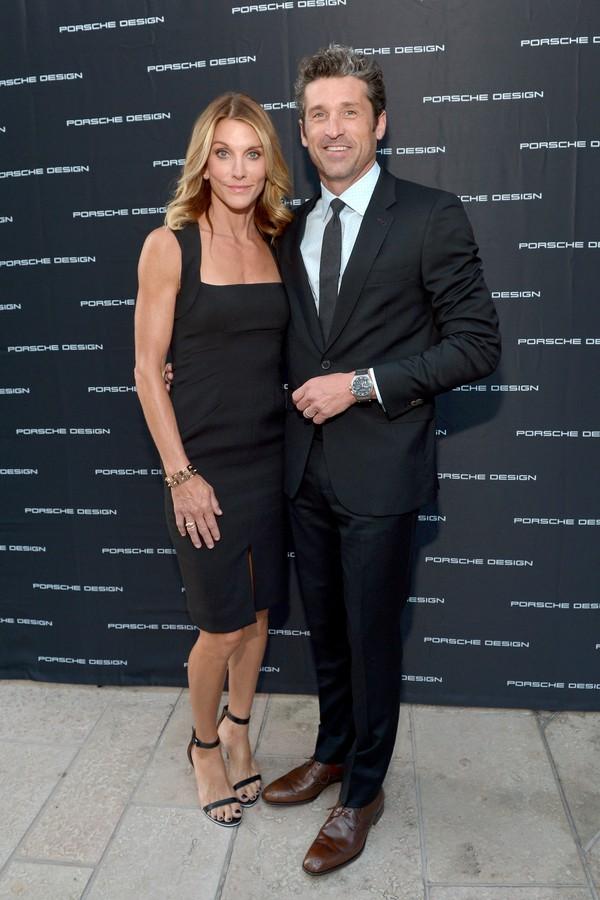 O ator Patrick Dempsey e sua ex-esposa Jillian Dempsey  (Foto: Getty Images)