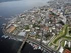 Manaus tem população estimada em 1,9 milhão de habitantes, diz IBGE