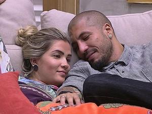 Aline e Fernando (Foto: Big Brother Brasil)