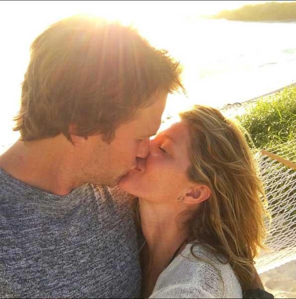 Gisele e Tom: só amor! (Foto: Reprodução - Instagram)