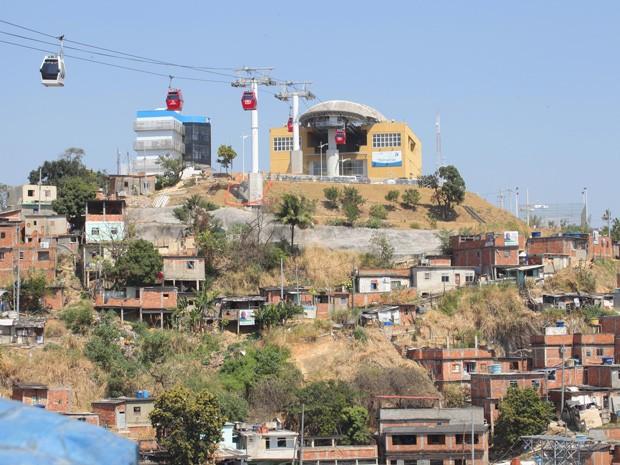 O Complexo do Alemão vai ser retratado na trama (Foto: Salve Jorge/TV Globo)