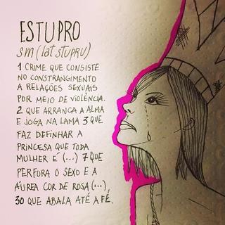 Fabiana Karla se manifesta contra o estupro coletivo (Foto: Reprodução/Instagram)
