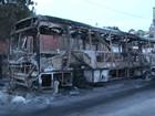 Ônibus são incendiados após morte em confronto com PM no sul da BA