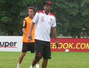 Marcelo Salles treino Flamengo (Foto: Richard Souza / Globoesporte.com)