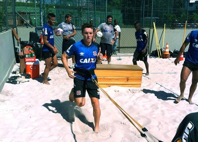 Dagoberto treino Vasco (Foto: Reprodução / Instagram)