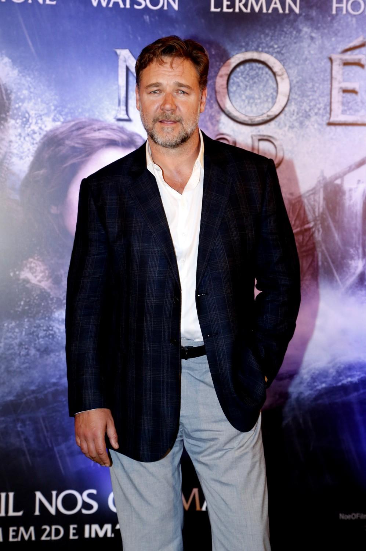 Russell Crowe (Foto: Felipe Assumpção/Léo Marinho/AgNews)
