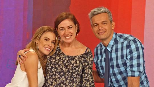 Lilia Cabral se emociona ao rever cena de 'Viver a Vida' no 'Vídeo Show'