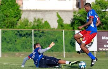 Com Feijão no DM e Armero liberado, Bahia treina em dois períodos