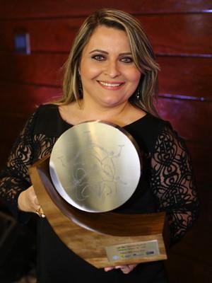 Kassya Freitas Melo, empreendedora da Paraíba que venceu Prêmio de Competitividade para Micro e Pequenas Empresas (MPE Brasil 2013) (Foto: Divulgação/Sebrae)